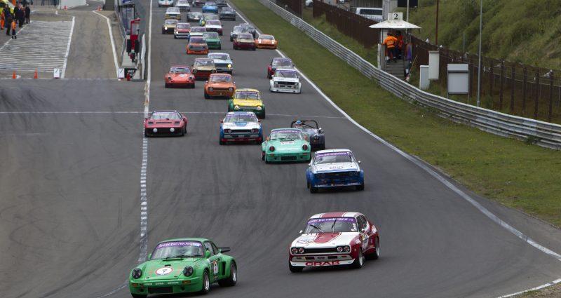 Historic Grand Prix Zandvoort zet mooie traditie voort met 55 auto's in NK GTTC