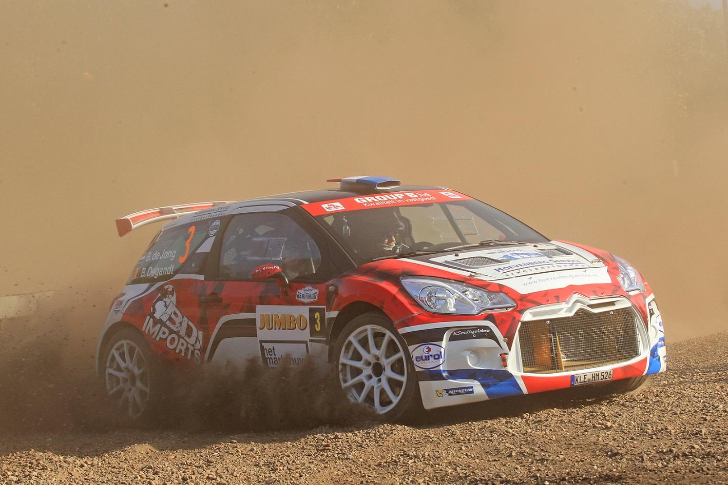 Eurol R5 Rally Challenge - Bob de Jong snelt naar winst in GTC Rally