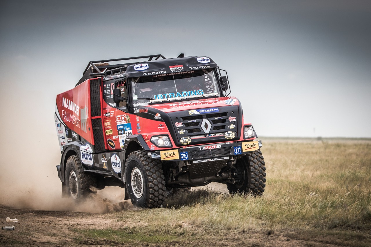 Mammoet Rallysport moet strijd in Silk Way Rally staken