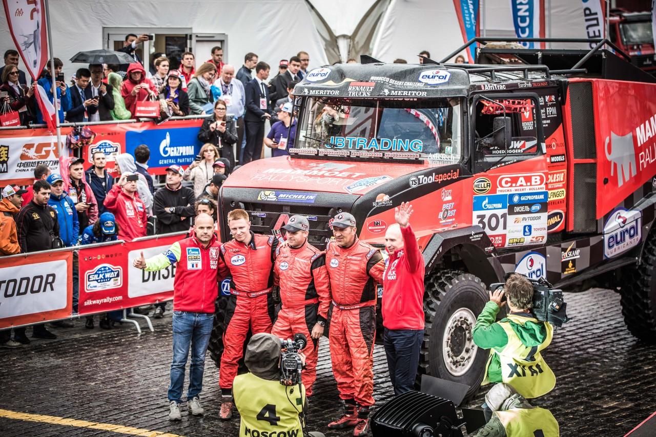 Martin van den Brink tevreden met tiende plaats in openingsrit Silk Way Rally