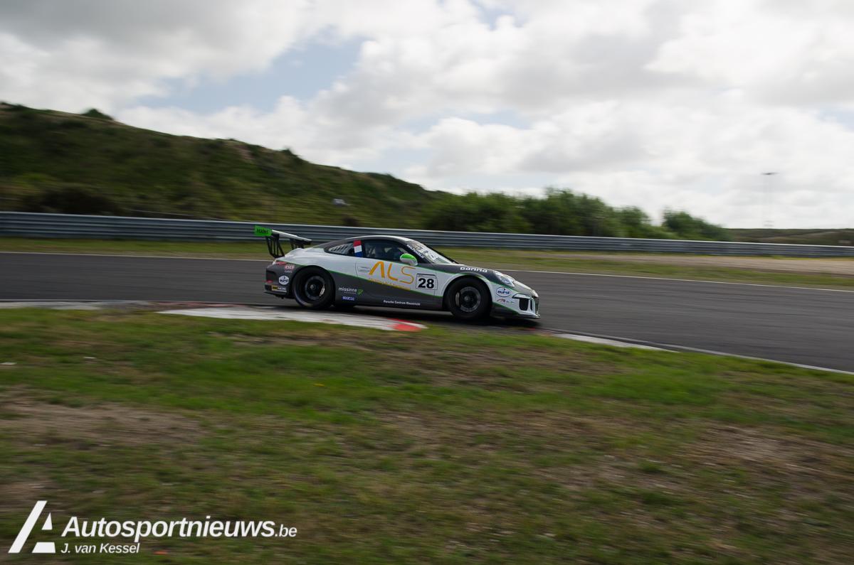 Xavier Maassen pakt derde zege en leiding terug in de Porsche GT3 Cup Challenge Benelux op Circuit Zandvoort