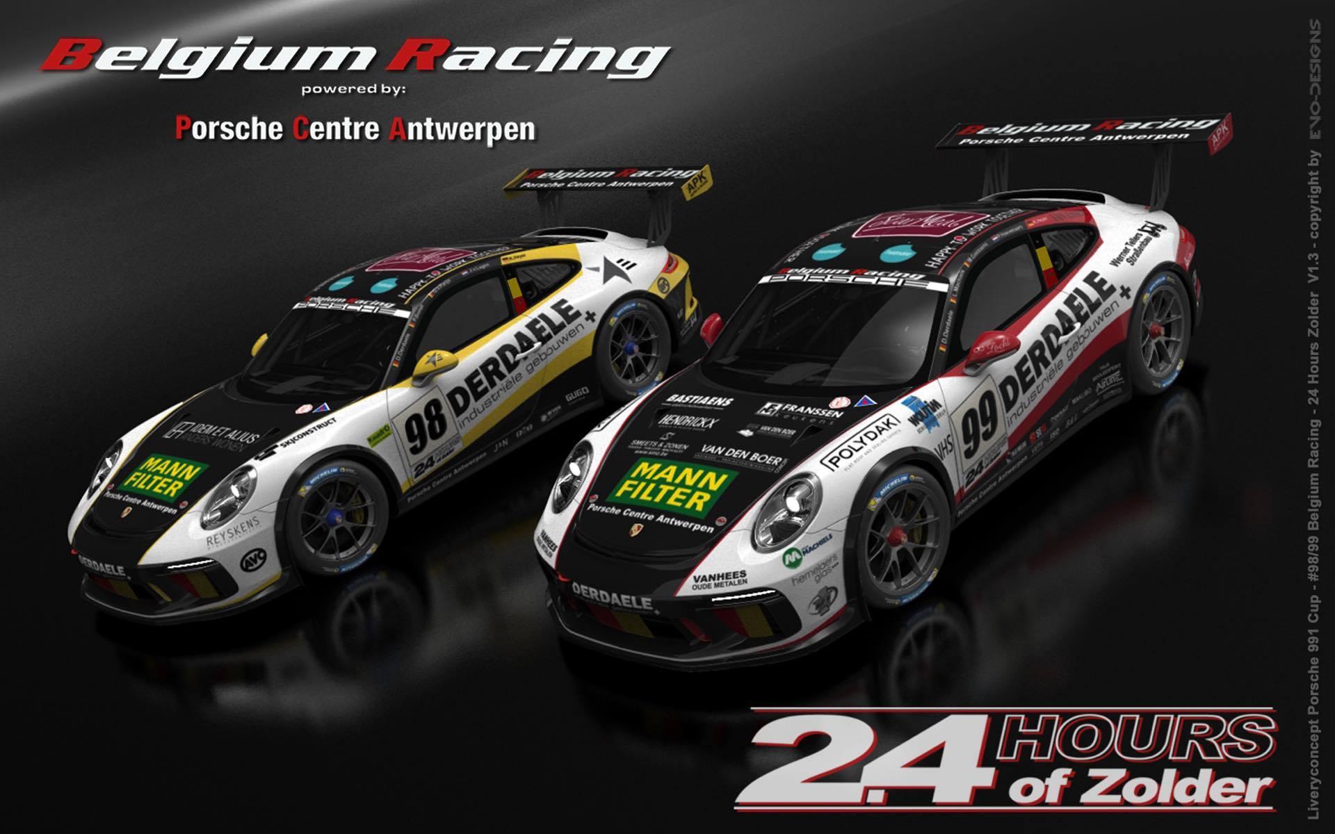 Belgium Racing ambieert vijfde zege op rij
