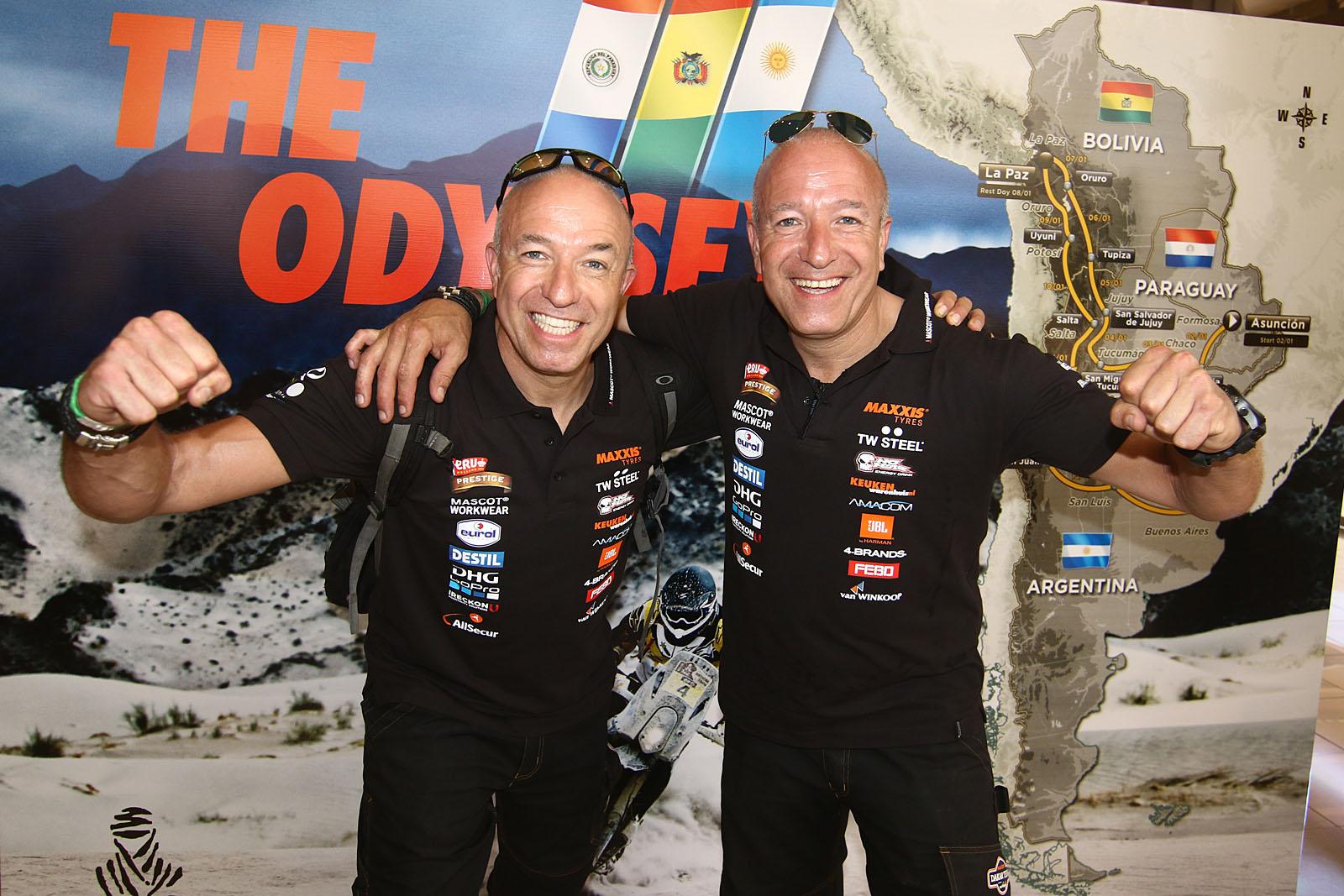 Tim en Tom Coronel verwennen de kinderen tijdens Gamma Racing Days
