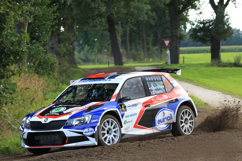 Bernhard ten Brinke snelste R5-coureur in Eurol Hellendoorn Rally