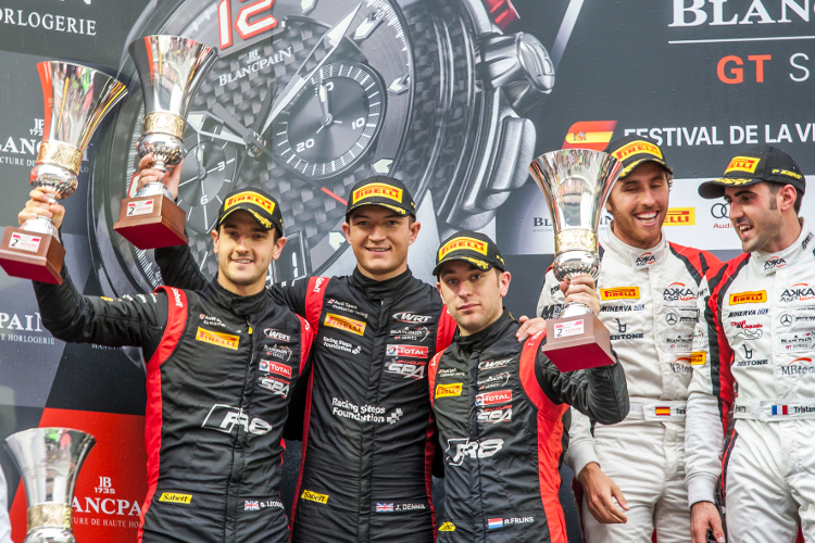 Belgian Audi Club Team WRT brengt spektakel in de finale van de Blancpain GT Series