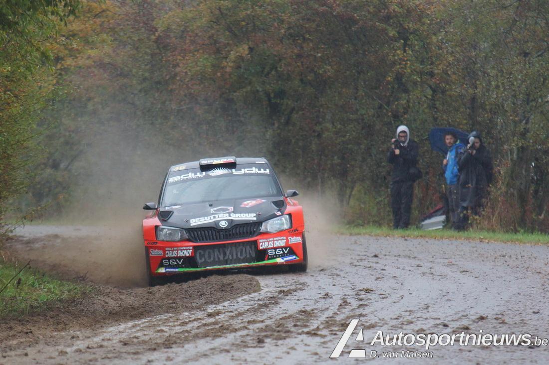 Vincent Verschueren op titeljacht in de Condroz Rally