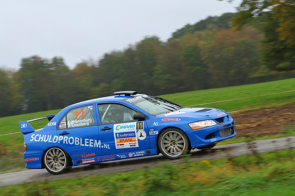 Pech zet streep door goede prestatie in Twente Rally