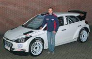 Bob de Jong met steun van Hyundai Nederland in Twente Rally