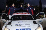Bob de Jong snelt met Hyundai i20 R5 naar tweede plaats in Twente Rally