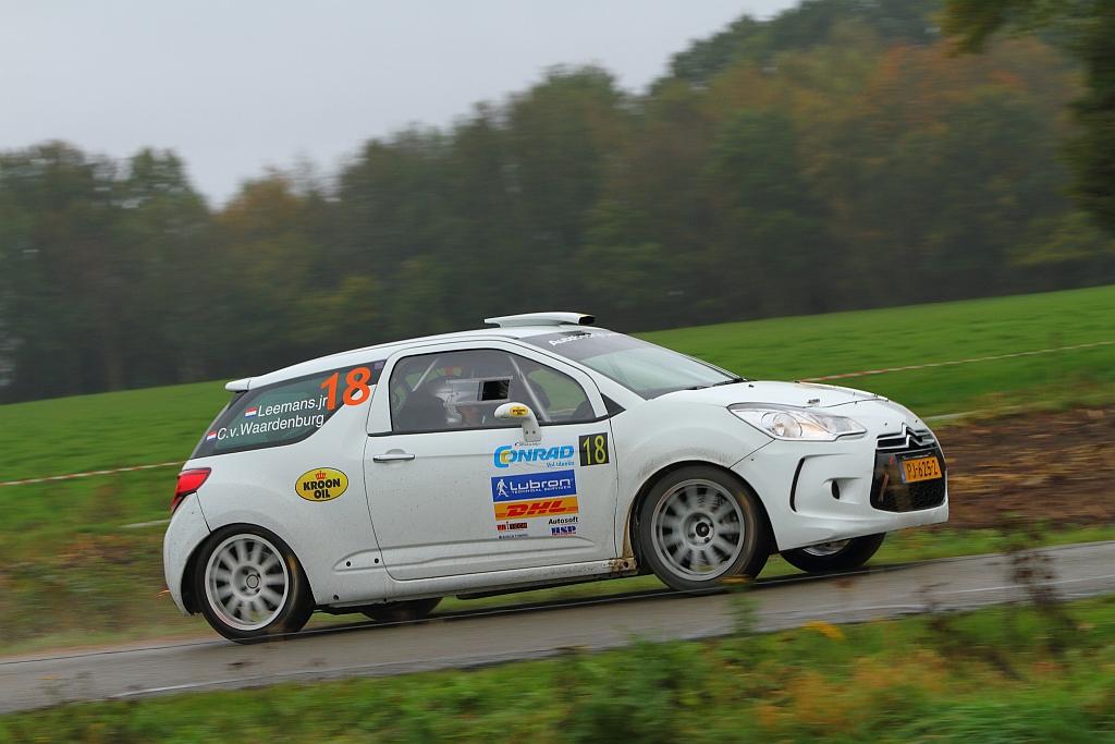 Loon naar werken voor Roald Leemans in Conrad Twente Rally