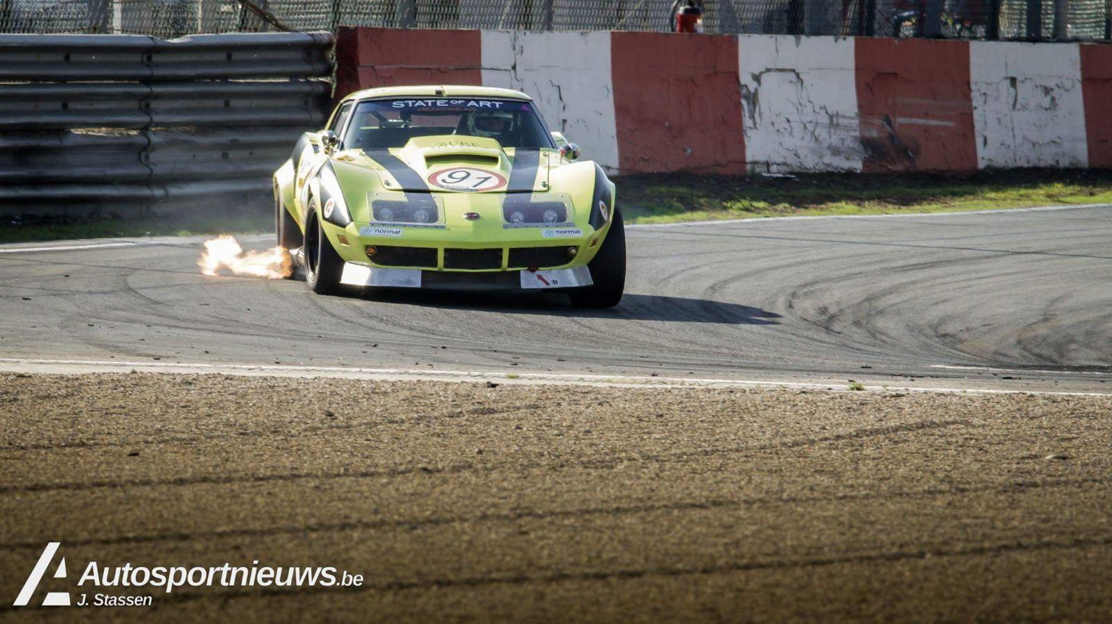 Luc Branckaerts over zijn Chevrolet Corvette C3