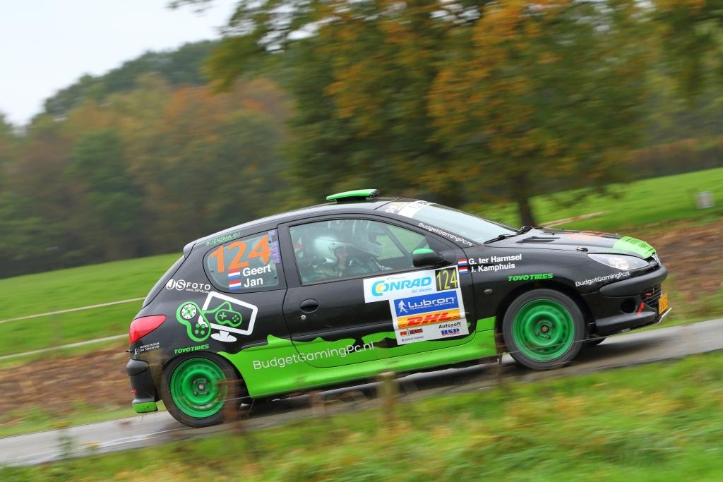 Geert ter Harmsel en Jan Kamphuis kampioen 206 Rally Cup