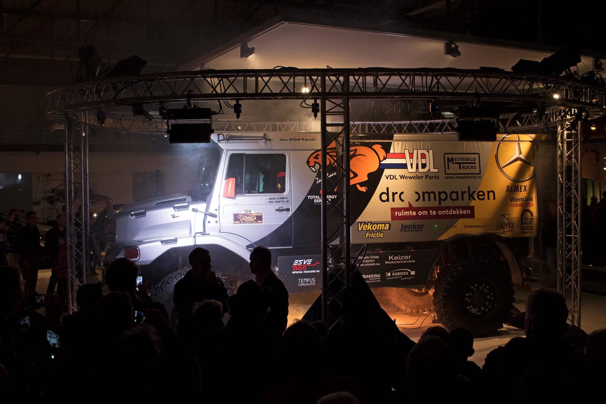 All Star Rally: De presentatie van de truck voor 2018