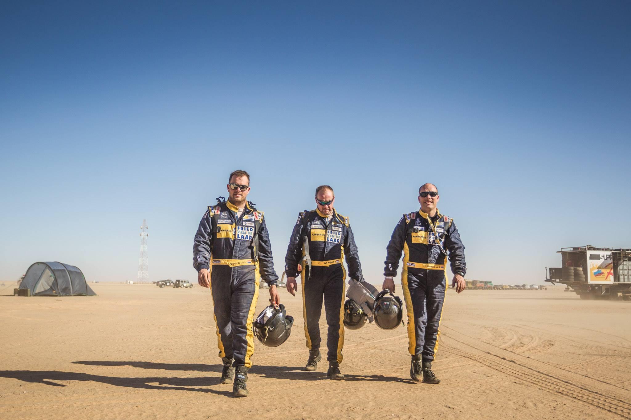 Team Van de Laar: 'Prachtig, om finish in Dakar mee te maken'