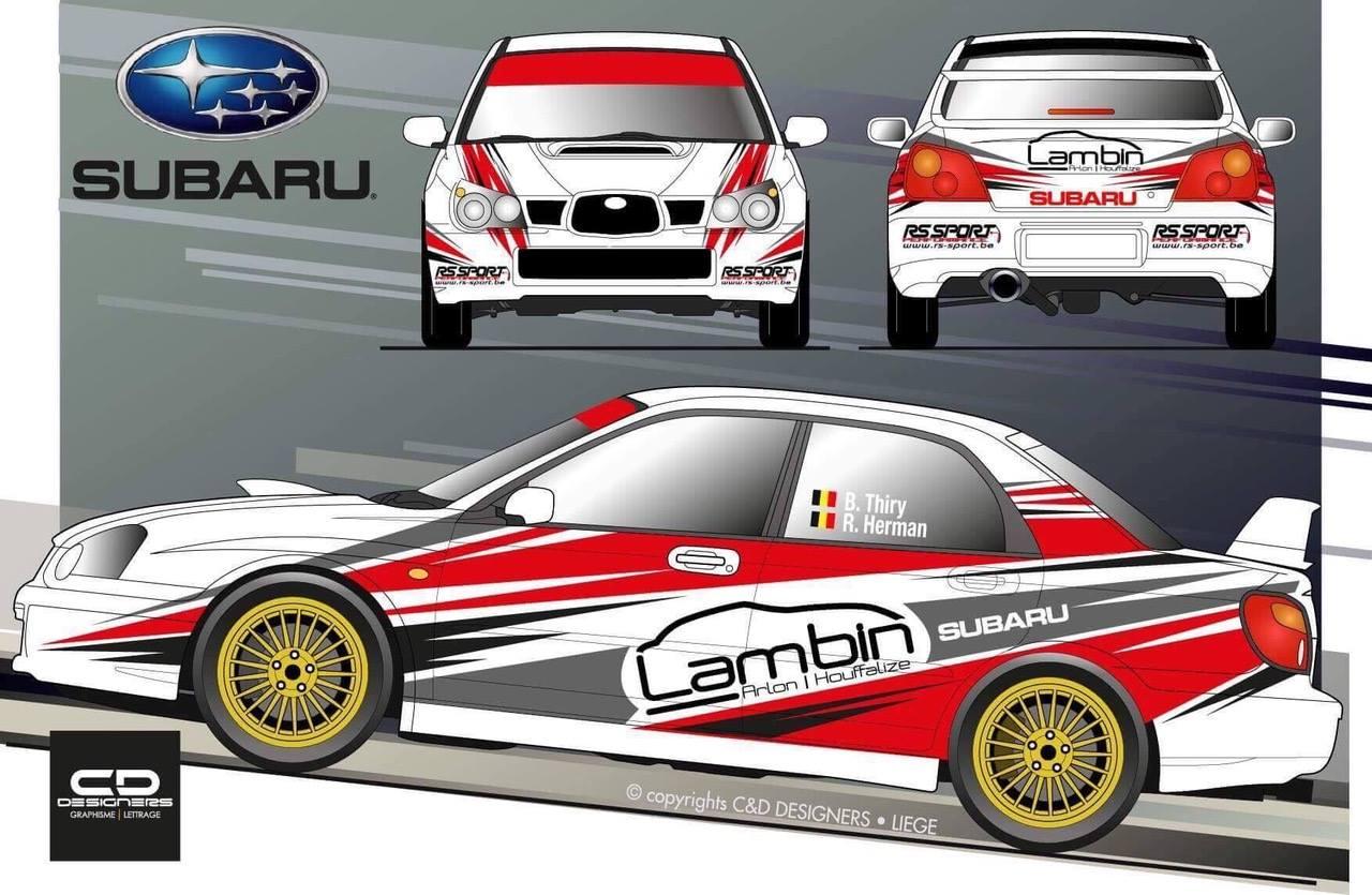 Legend Subaru-avond bij concessie Lambin in Houffalize en met Bruno Thiry als gast