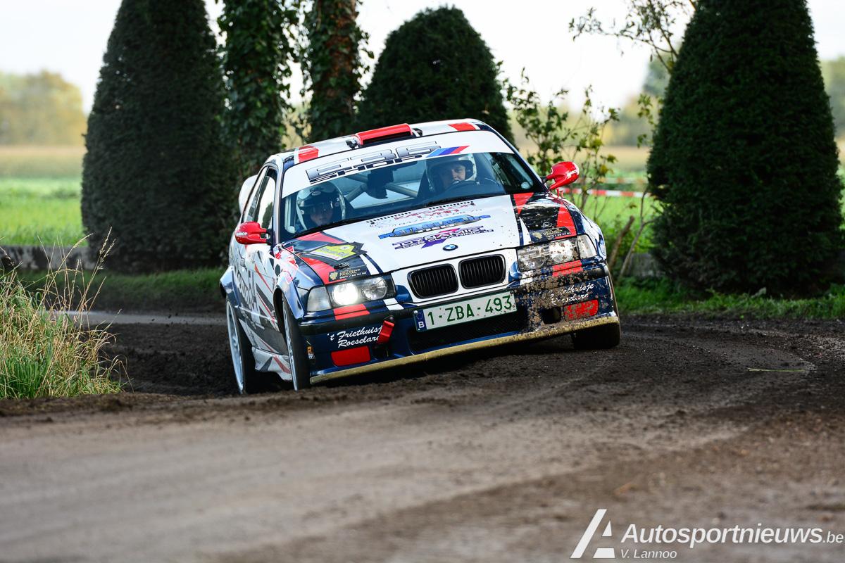 Lorenzo Vandenheede met nieuwe Bmw E36 coupé in Racb M-cup