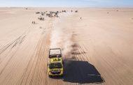 Zevende etappe Africa Race 'superdag' voor Van de Laar