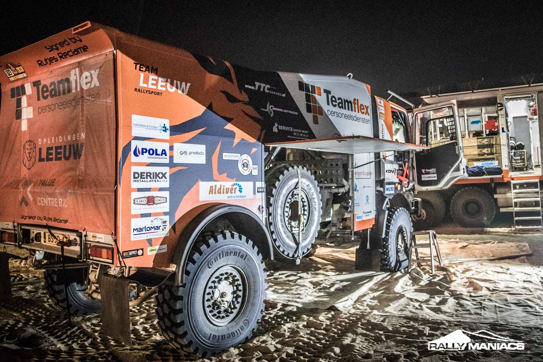 Nachtelijk avontuur Marc Leeuw aan begin Dakar Rally