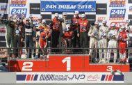 Podiumplaats in Cup1 voor QSR Racing Team in 24 Uren van Dubai