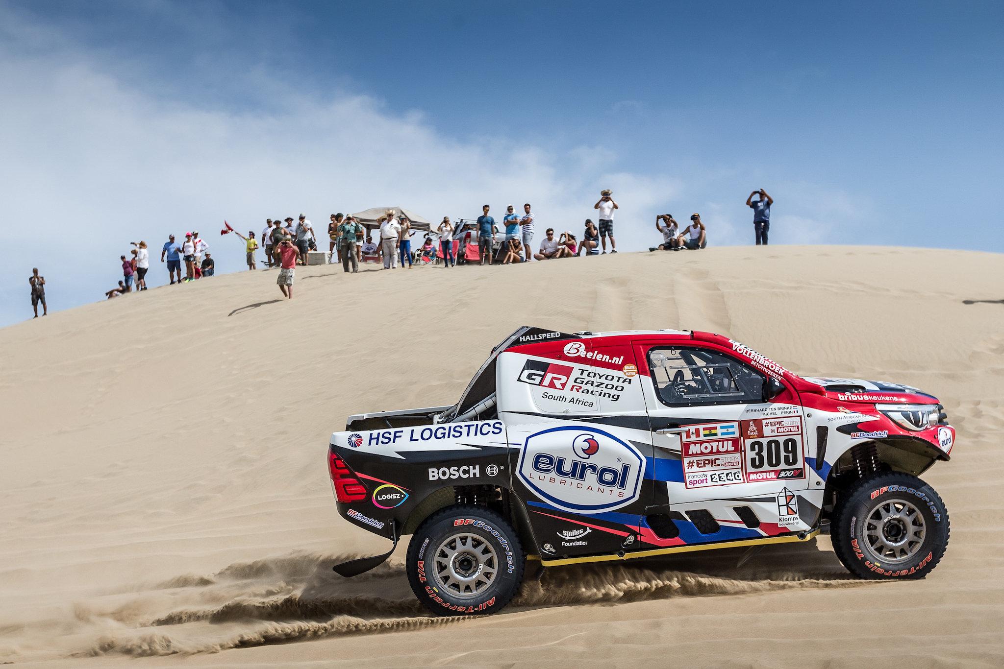 Bernhard ten Brinke tevreden met tiende plaats in duinen etappe