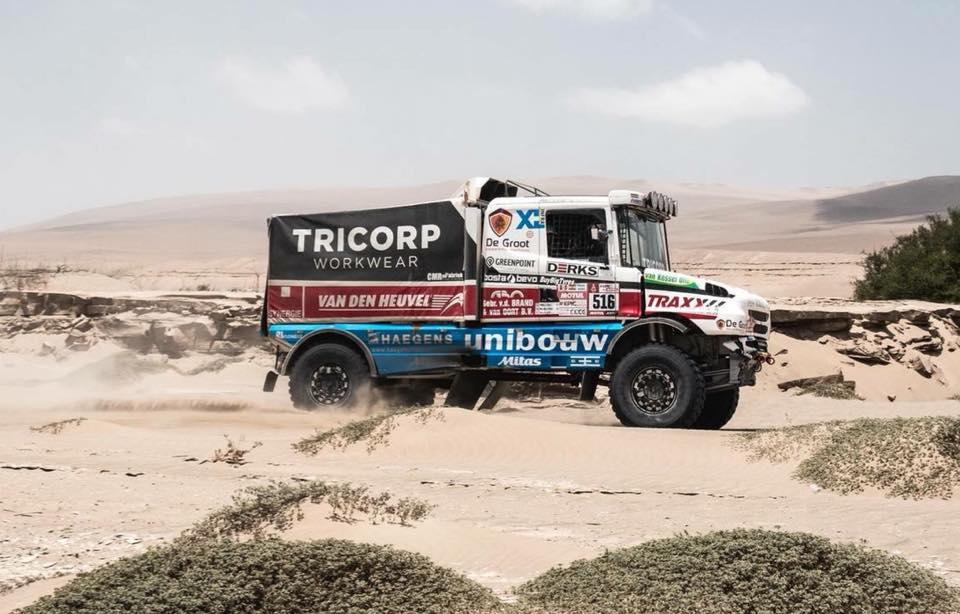 Eerste doel DakarSpeed gehaald: top 10 op de rustdag