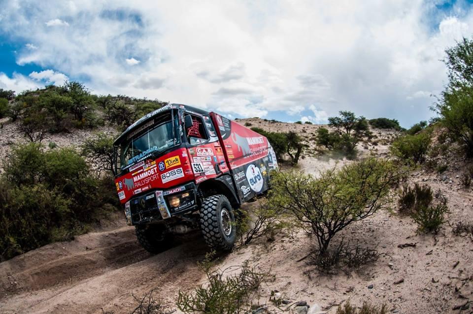 Grote technische problemen voor Mammoet Rallysport