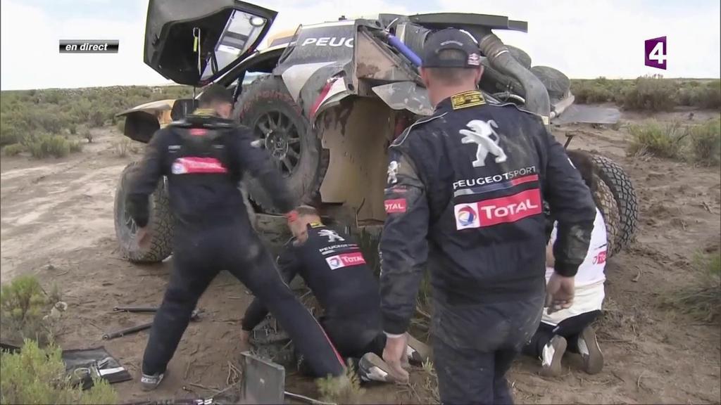 Dakar 2018 etappe 7: Bolivia bijt