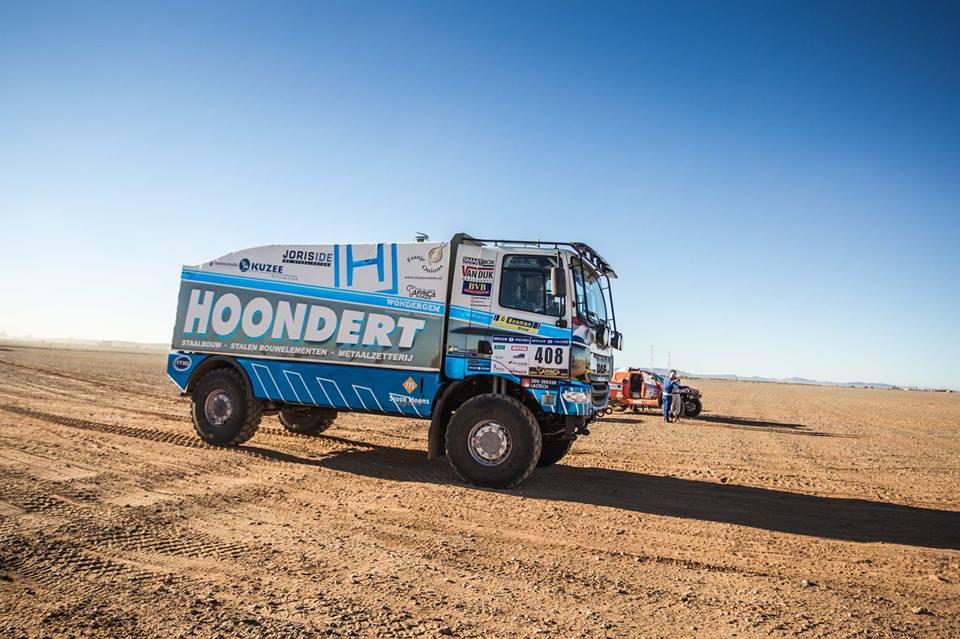 Adwin Hoondert ziet af in tweede etappe Africa Race
