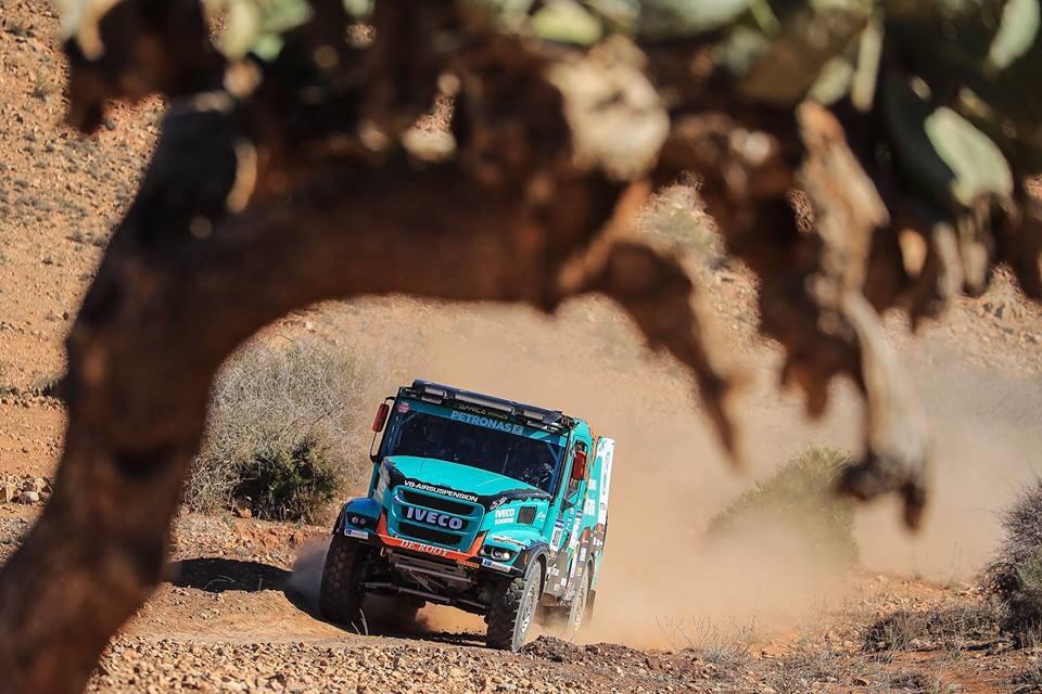 De Rooy en Van Ginkel goed van start in Africa Eco Race
