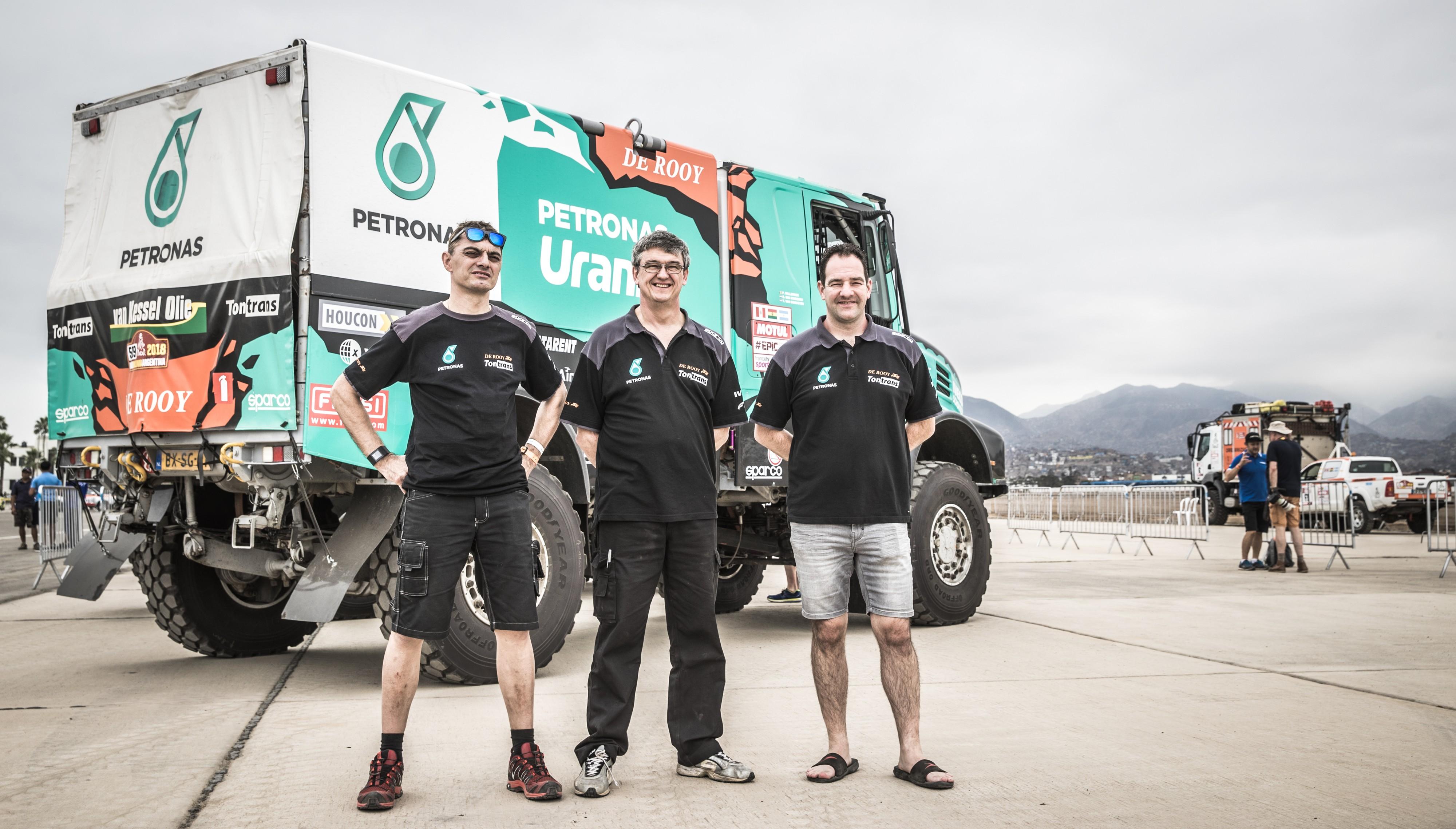 Ton van Genugten heeft zin in Dakar Rally met zijn Iveco Powerstar