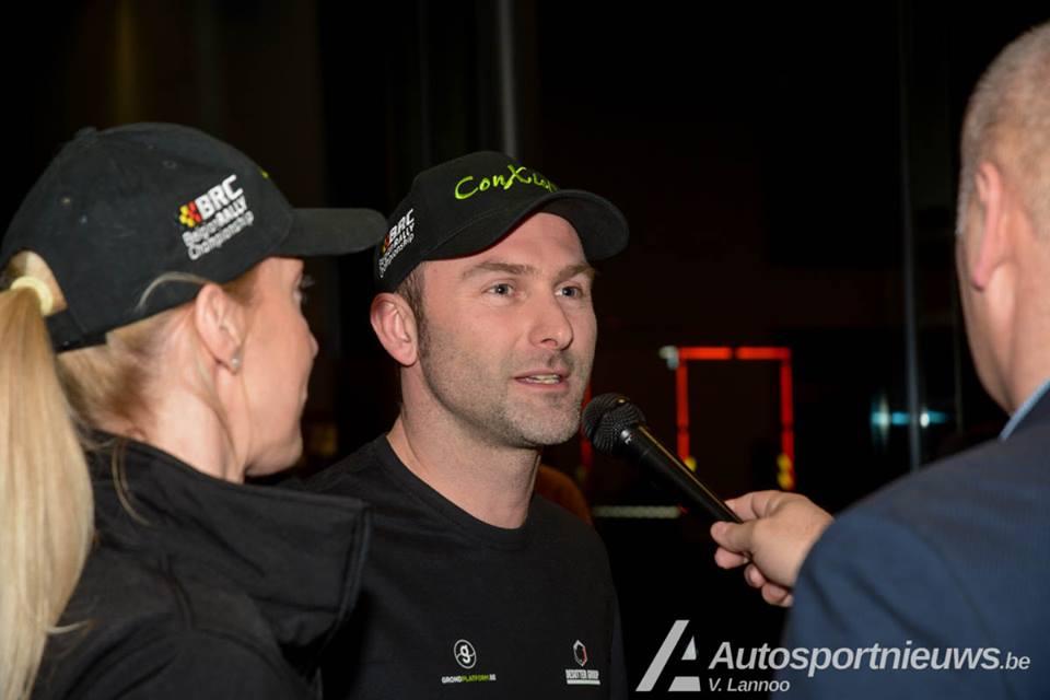 Vincent Verschueren wint de Rally van Wallonië in de sprint