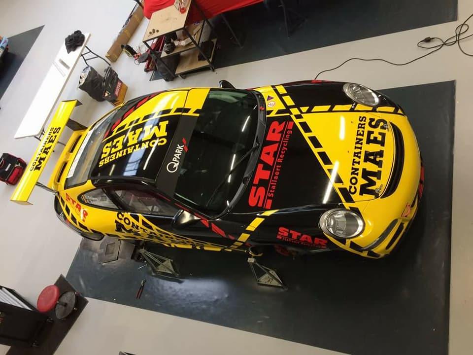 Patrick Snijers en Luc Bouchat rijden volledig BK rally in 2018 met Porsche 997 GT3