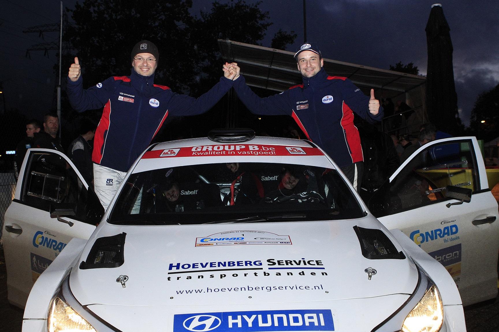 Bob de Jong met Hyundai i20 R5 op jacht naar titels