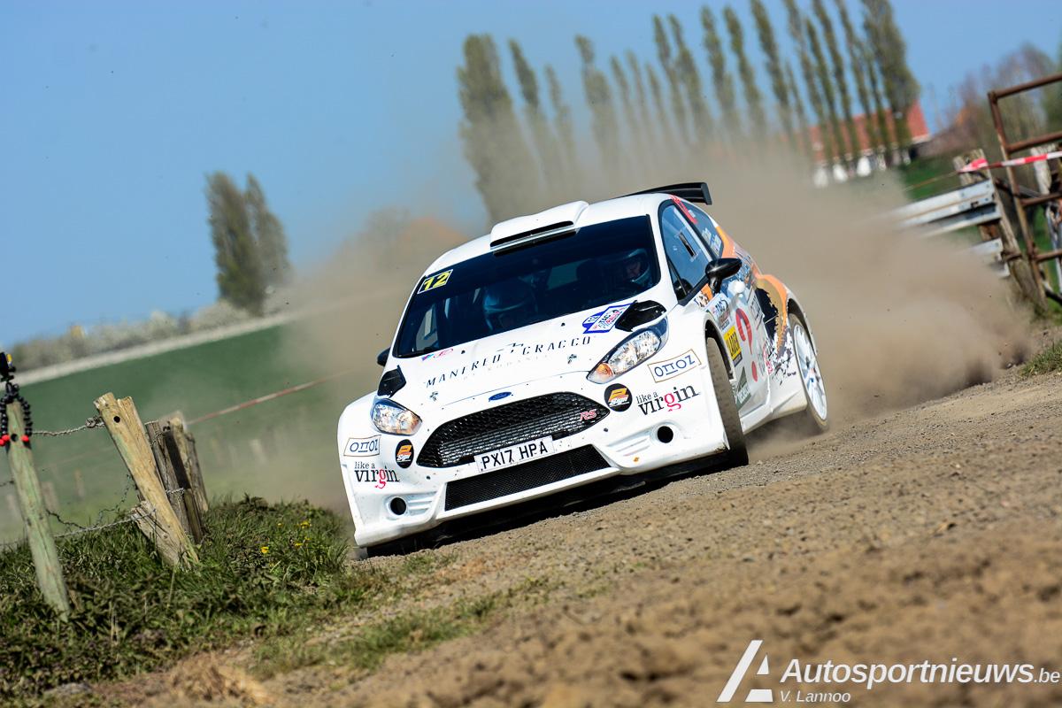 JobFIXers Belgian Rally Championship - Vader en zoon Cracco met Fiesta R5 in BRC 2018