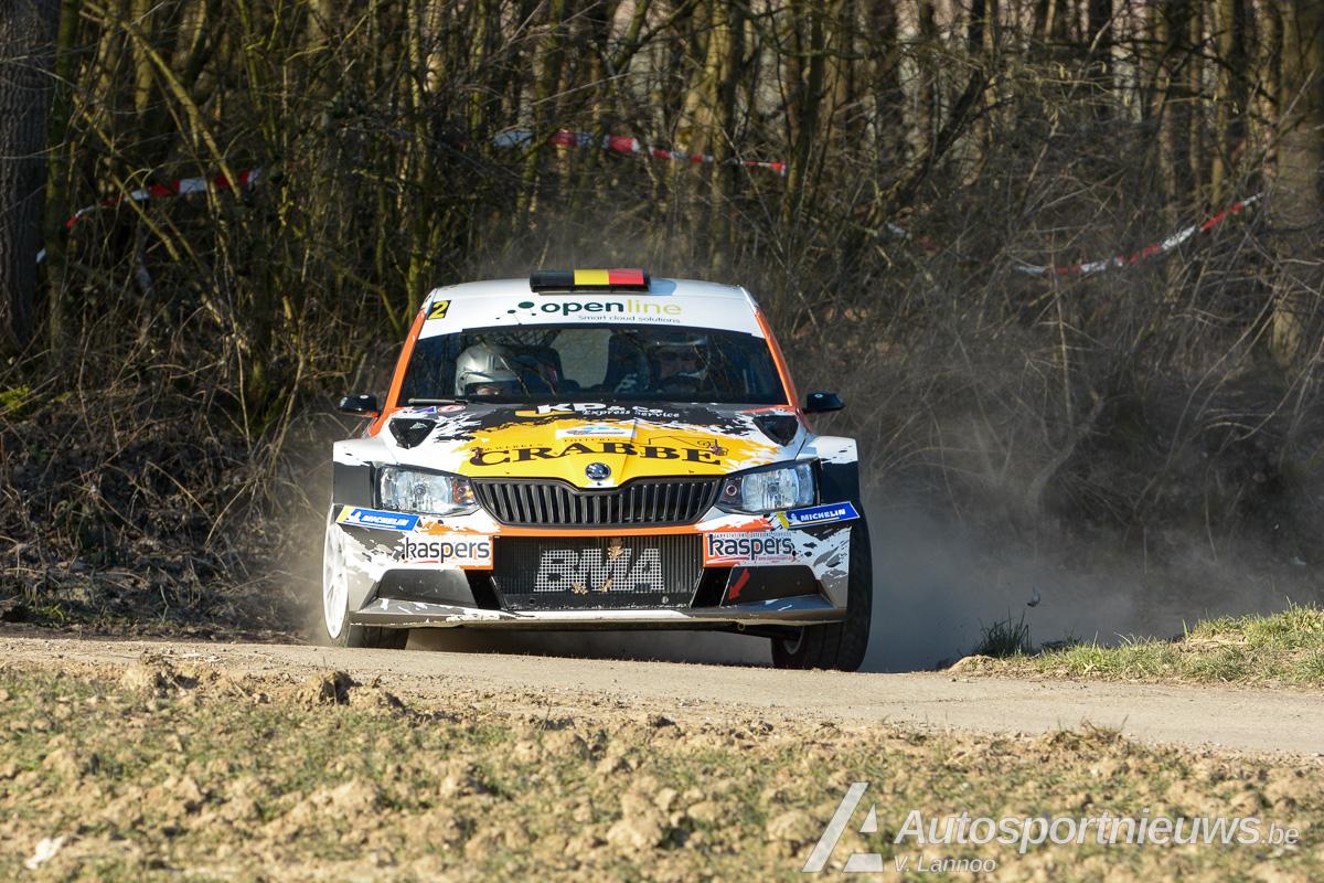 BMA opent het seizoen met een overwinning in de Haspengouw Rally