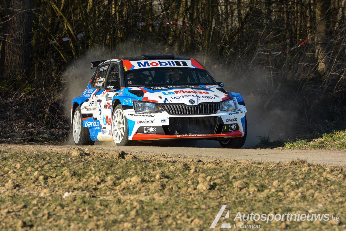 Spa Rally - Cédric Cherain belust op een revanche