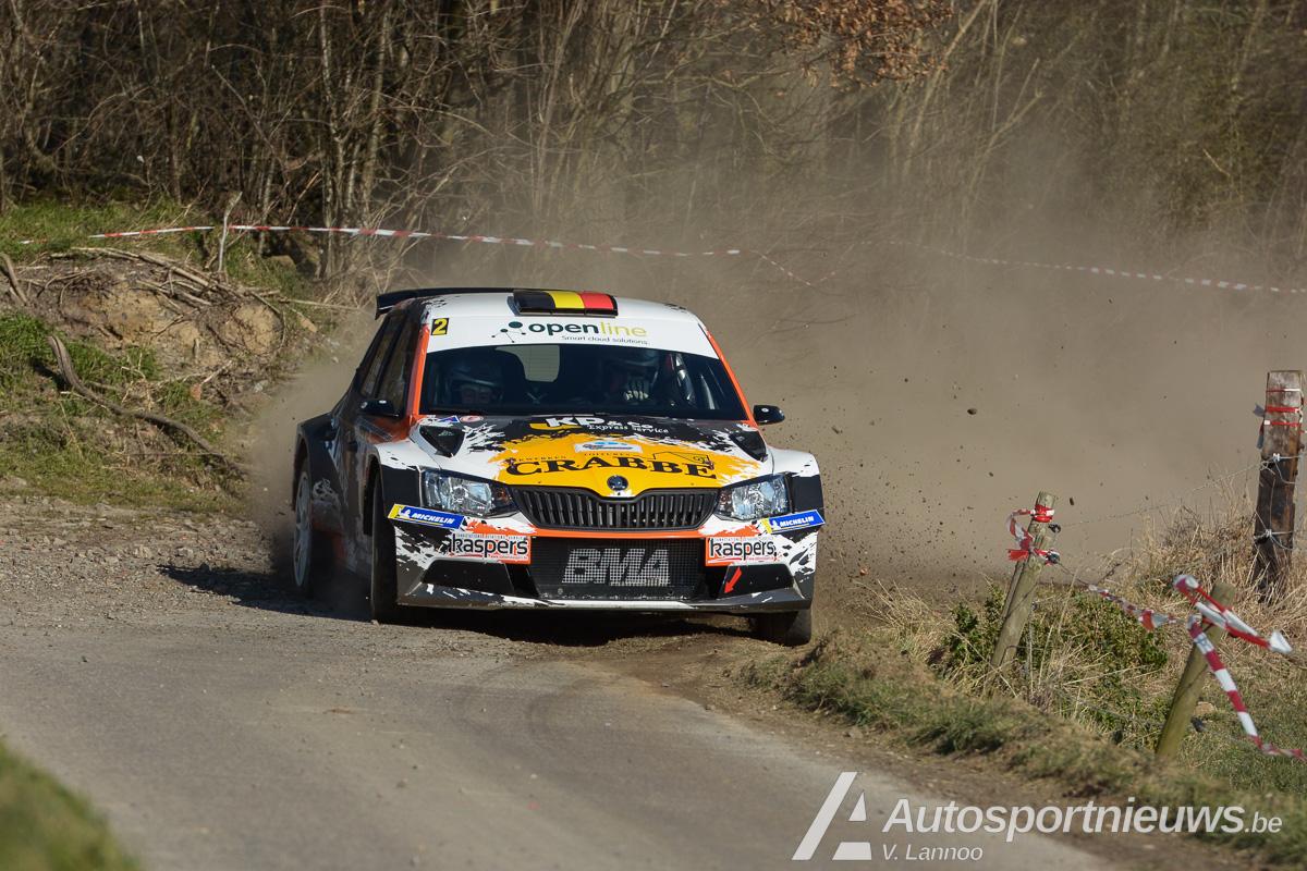 Kris Princen en Paul Lietaer kronen zich tot kampioen in East Belgian Rally 2018
