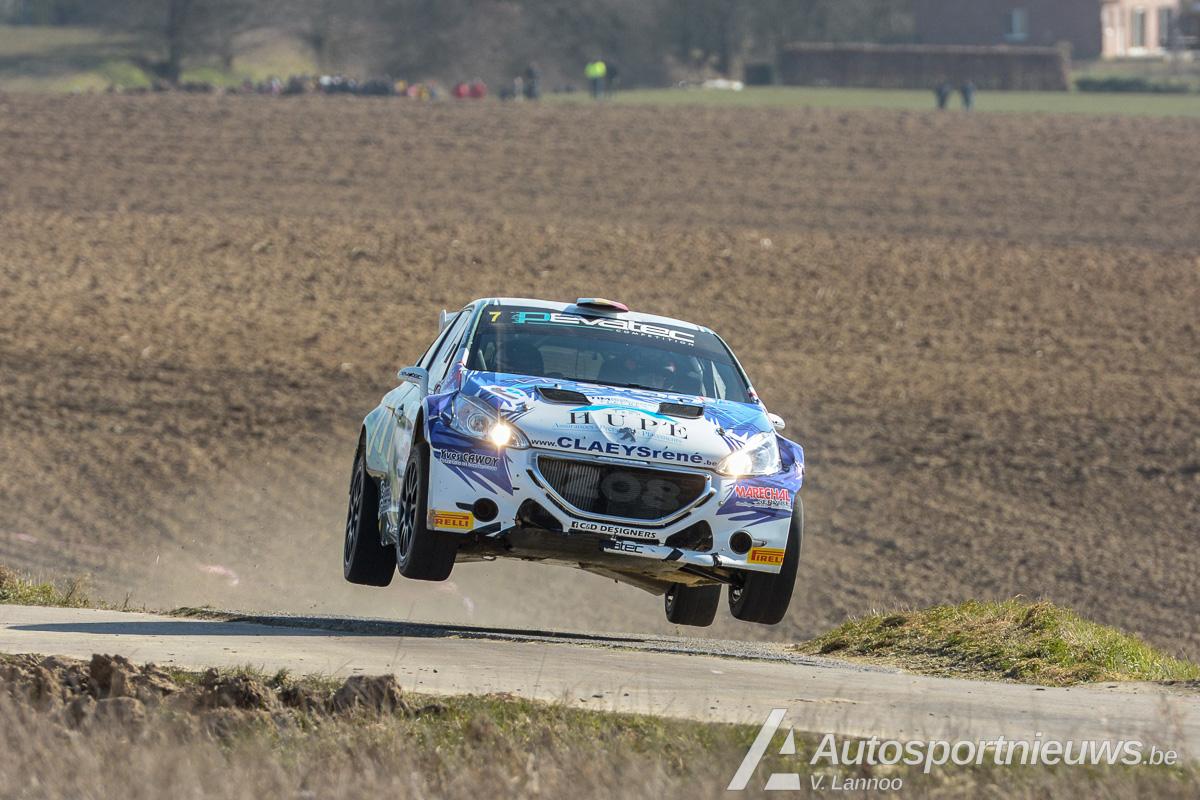 Opdracht volbracht voor Sébastien Bedoret - Rally van Haspengouw