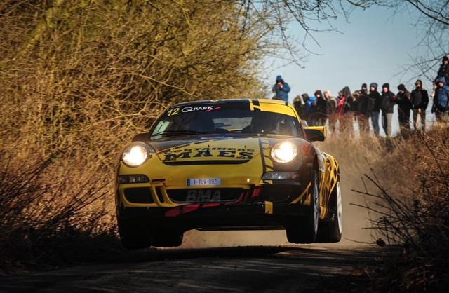 Patrick Snijers klaar voor Spa Rally