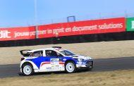 Bob de Jong met Hyundai i20 R5 aan de start in Zuiderzeerally