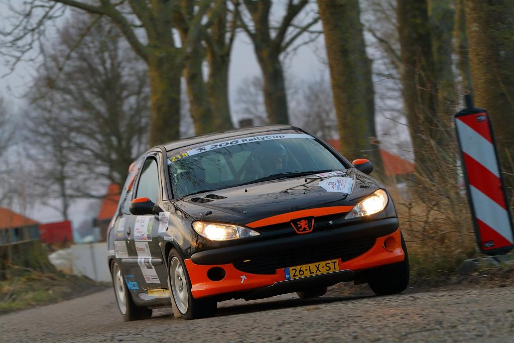 Winst voor Hesselink en Welink Zuiderzee Shortrally - 206 Rally Cup