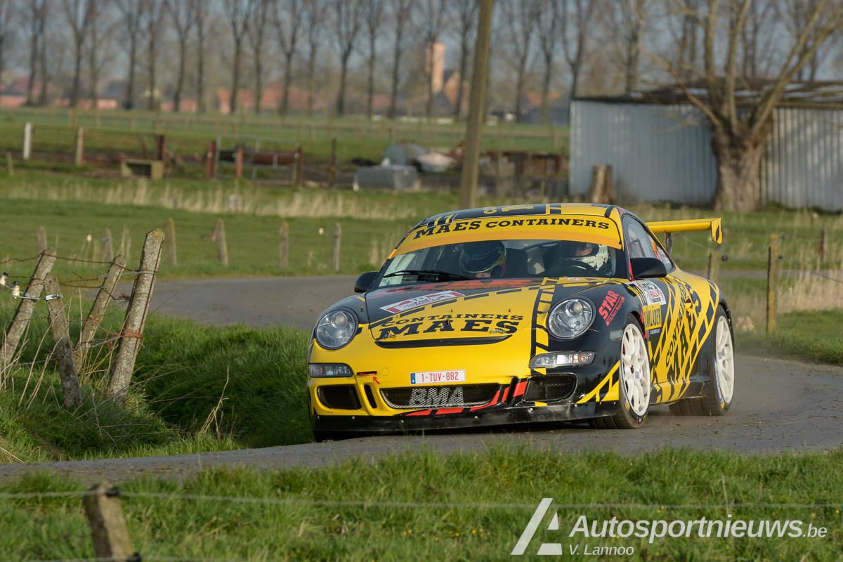 Patrick Snijers is fit voor rally van Wallonië