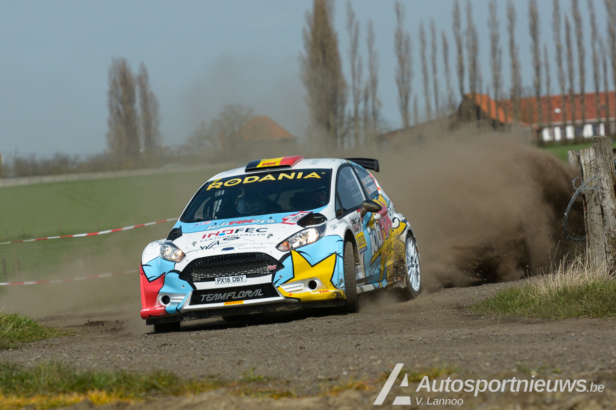 Opgemerkt debuut van hetjobFIXers Rally Team - Achiel Boxoen, Cracco Junior en Philip Cracco