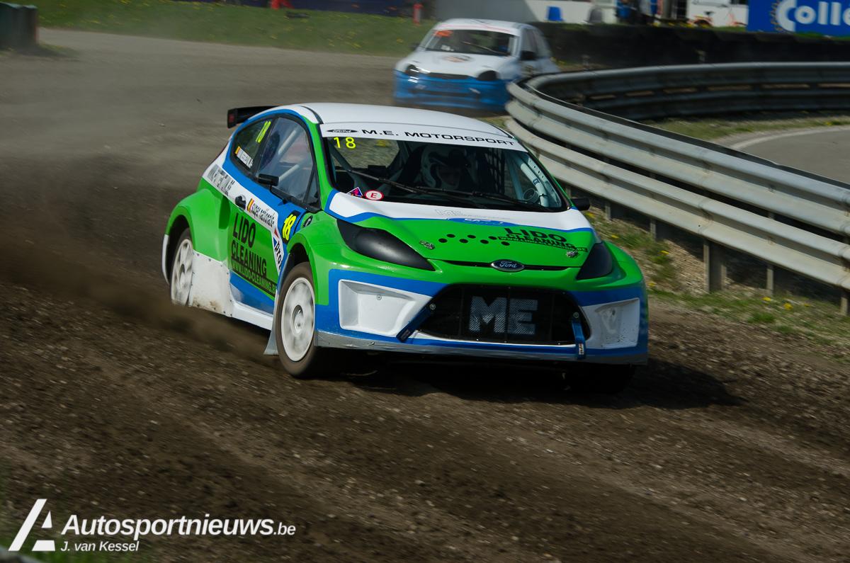 Tweede wedstrijd NK Rallycross