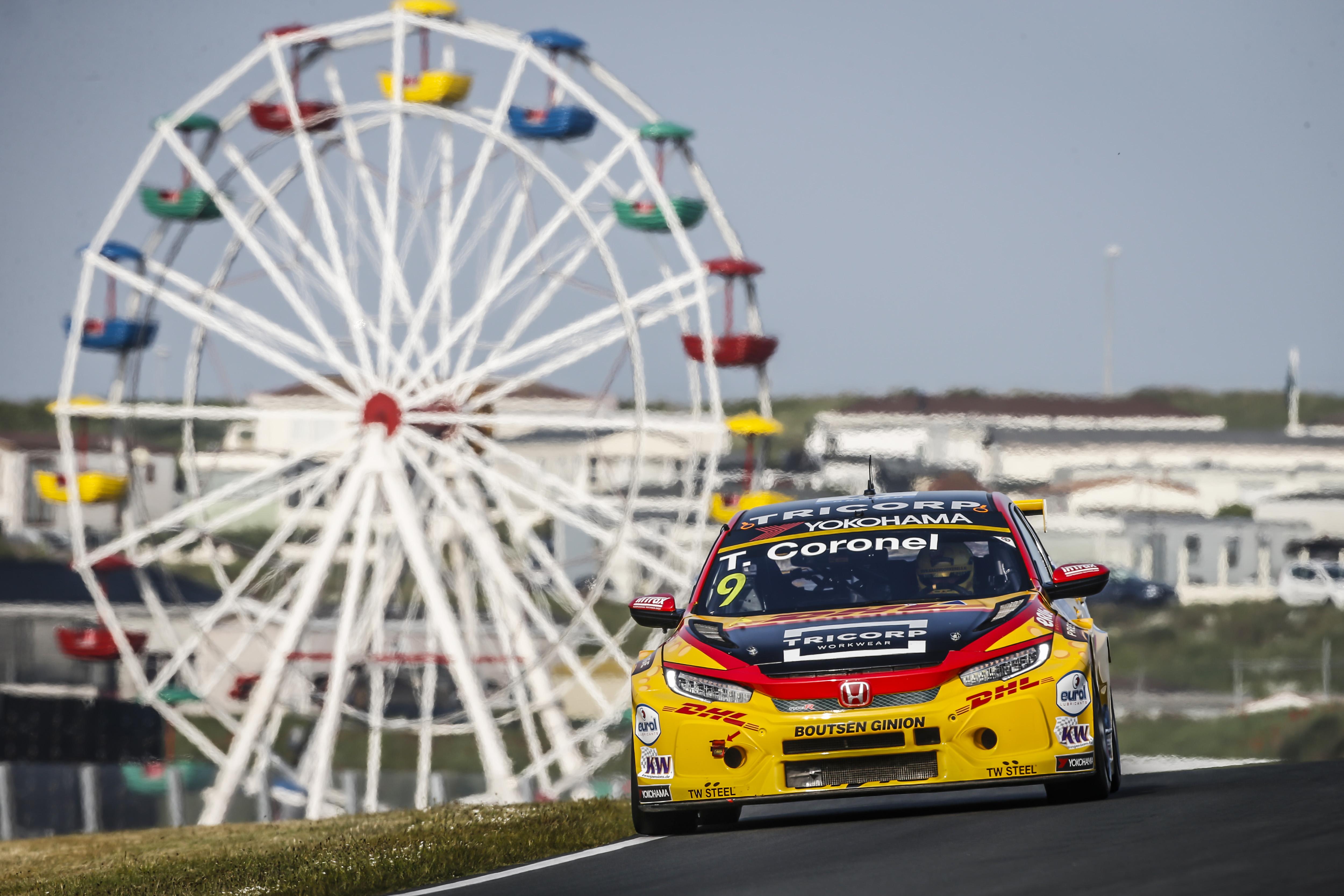Tom Coronel boekt zijn beste FIA WTCR resultaat met Honda CIVIC op Zandvoort