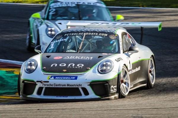 Xavier Maassen start sterk in Porsche GT3 Cup Challenge Benelux met pole en zege!