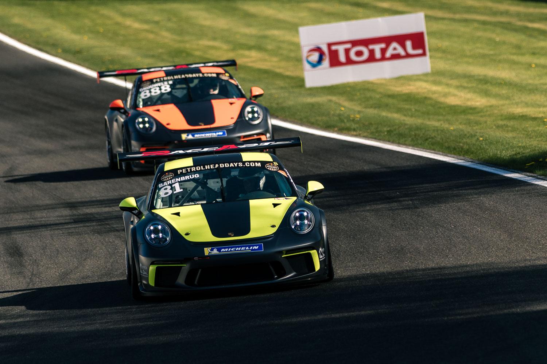 Team RaceArt start de Porsche GT3 Cup Challenge Benelux in Spa-Francorchamps met zege, podium en mooie ereplaatsen