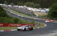 Opmars Dries Vanthoor in 24 Uur van de Nürburgring brutaal gestopt