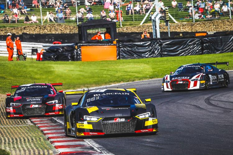Een perfect weekend voor Belgian Audi Club Team WRT
