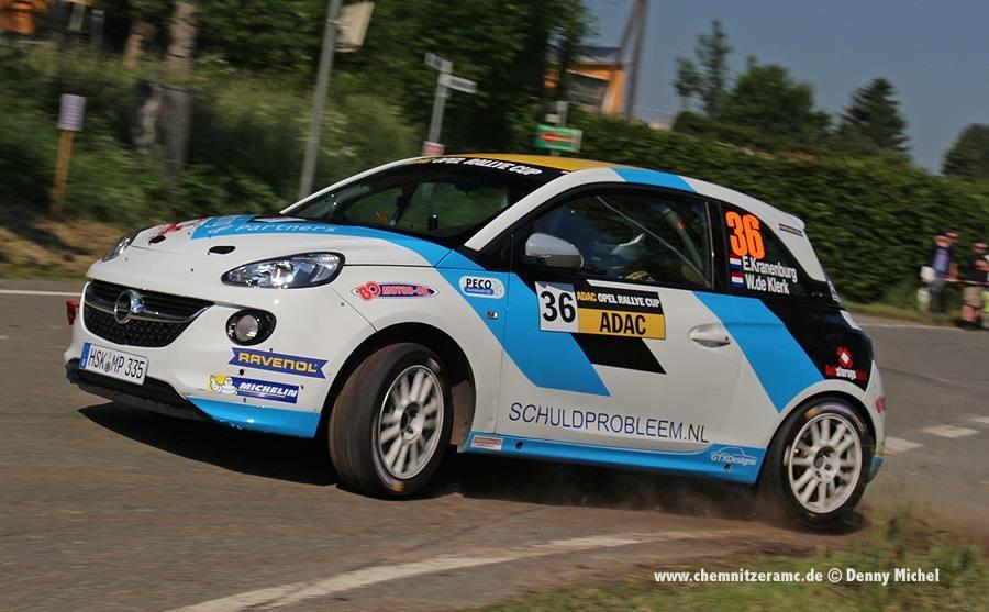 Enerverende AvD Sachsen Rallye voor Rallysport Utrecht